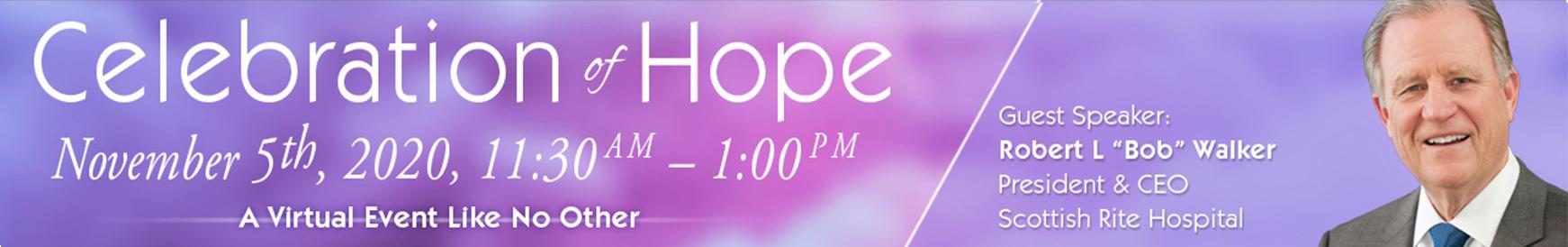 Celebration of Hope Virtual Event 2020