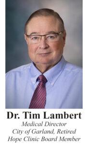 Dr Tim Lambert